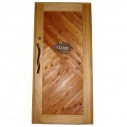 4歓迎の玄関ドア