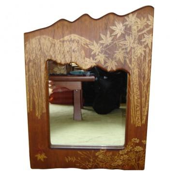 草木染の鏡