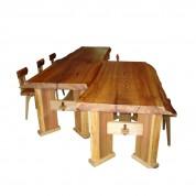 19日光杉の大テーブル