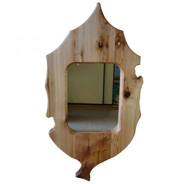 27木の葉の鏡