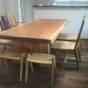00290001大テーブル、秋田杉